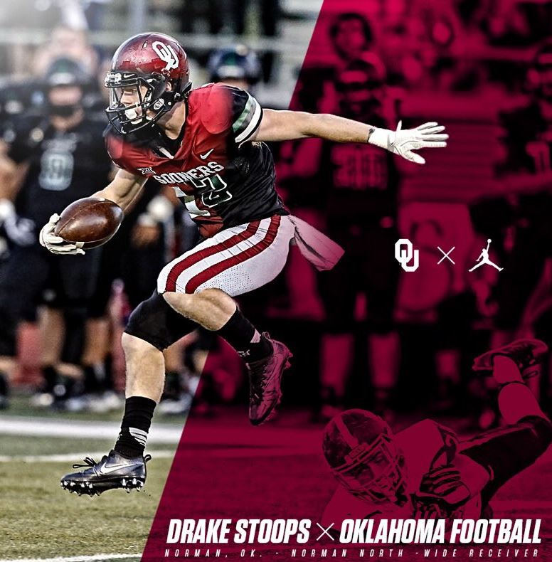 WR Drake Stoops Commits to Oklahoma