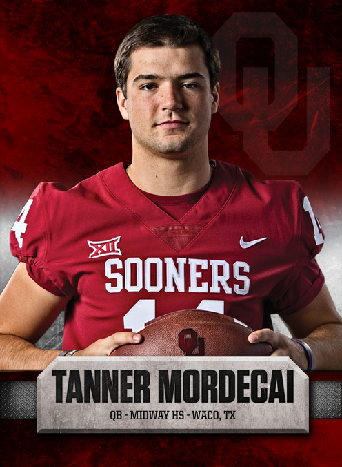 100 Days To Football Time In Oklahoma 15 Tanner Mordecai