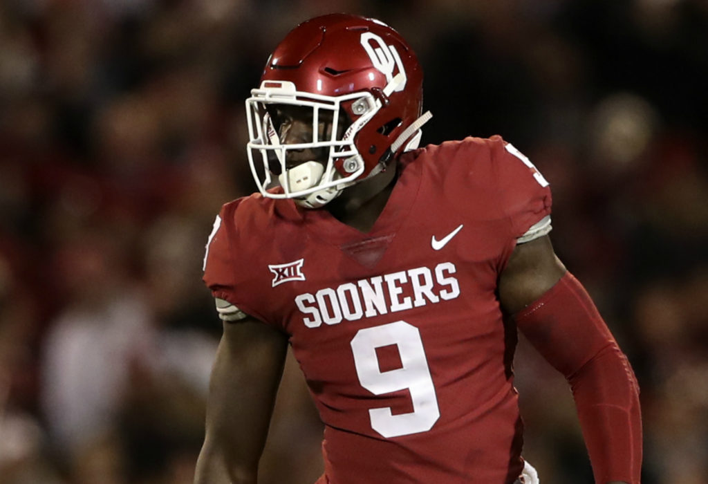 100 Days to Football Time in Oklahoma: #9 Kenneth Murray ...